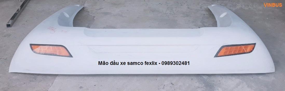 Mào đầu samco, mão đầu samco, mui lướt gió samco 2019