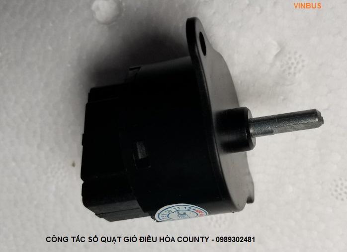 Công tắc số quạt gió điều hòa hyundai county - 975165A000