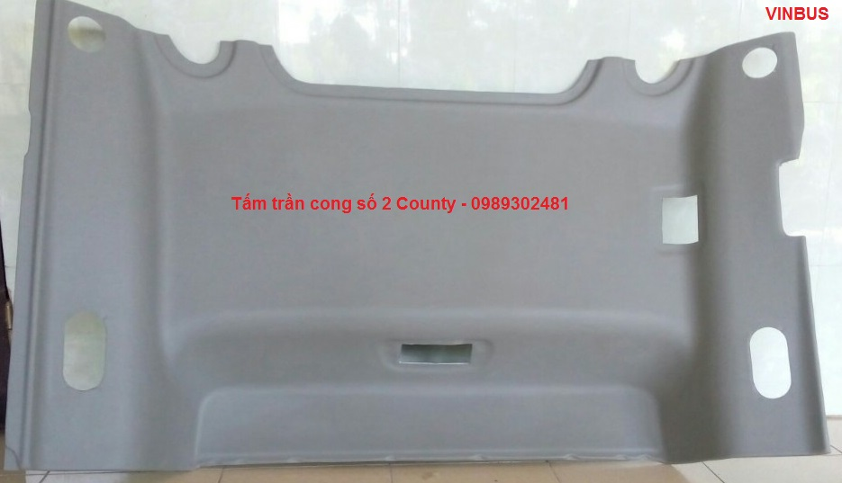 Tấm trần cong số 2 xe Hyundai County