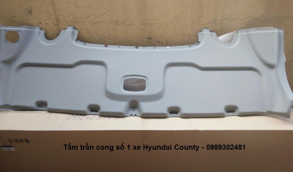 Tấm trần cong số 1 xe Hyundai County