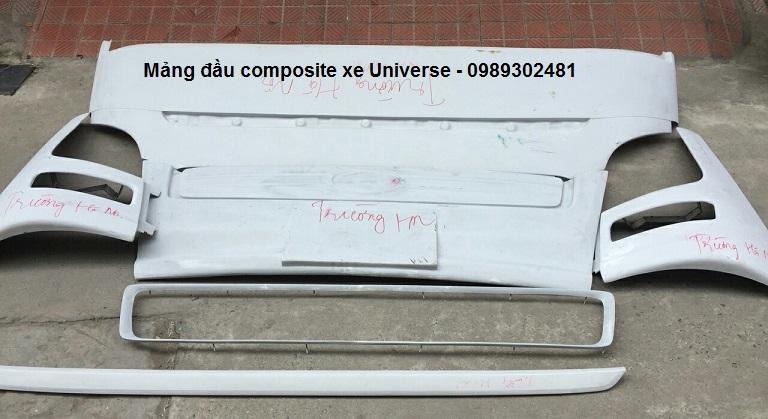 Mảng đầu và đuôi composite Universe dùng độ Space